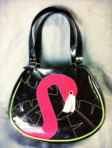 FishBowl bag-Pink flamingo