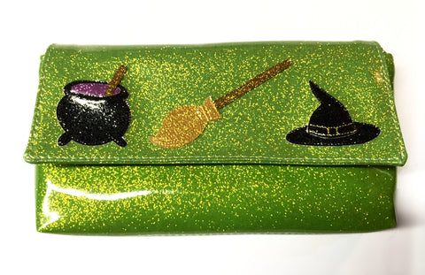 Wristlet- with Witchy stuff