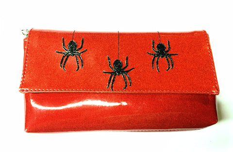 Wristlet- with Spiders