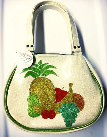FishBowl bag- Fruity (white)