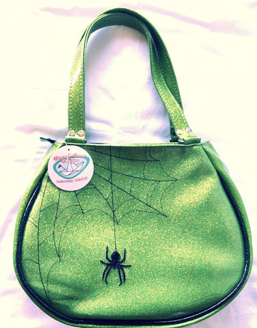 FishBowl bag- spider web