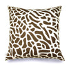 Fan Coral - Coffee Bean Pillow Cover