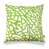 Fan Coral - Lime Green Pillow Cover