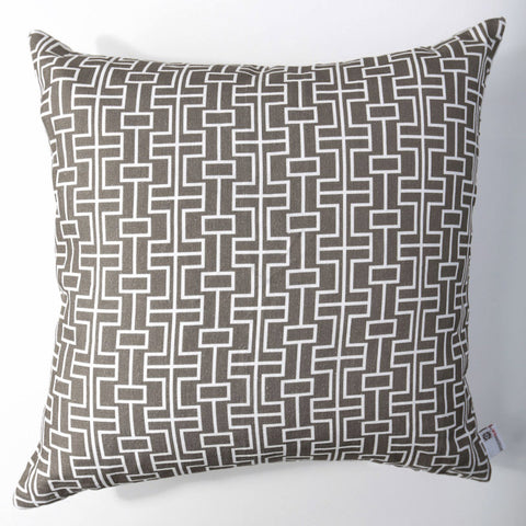 Grid - Mushroom Pillow Cover