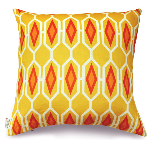 Honeycomb - Fire Pillow Cover