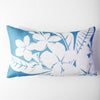 Aloha - Teal/Lumbar Pillow Cover