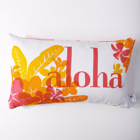 Aloha - Honeysuckle/Lumbar Pillow Cover