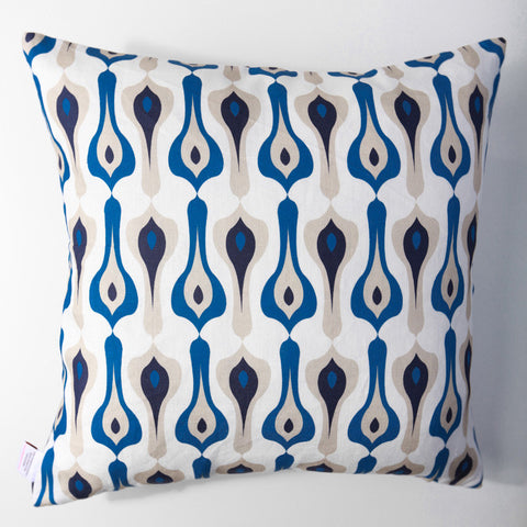 Bacall - Indigo Pillow Cover