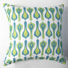 Bacall - Aqua Pillow Cover