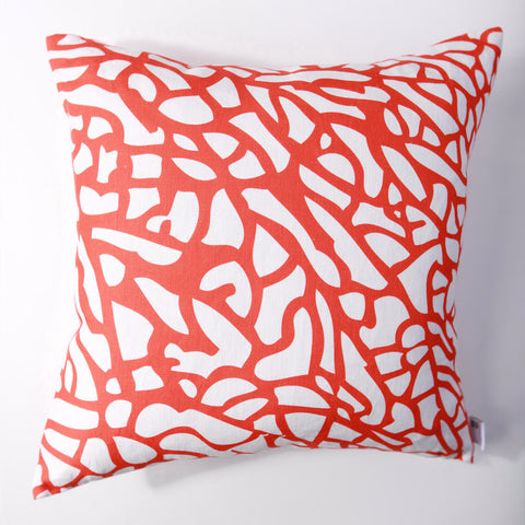 Fan Coral - Fire Pillow Cover