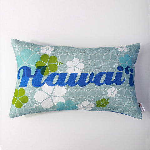 Hawaii - Indigo/Lumbar Pillow Cover