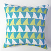 Mano - Aqua Pillow Cover