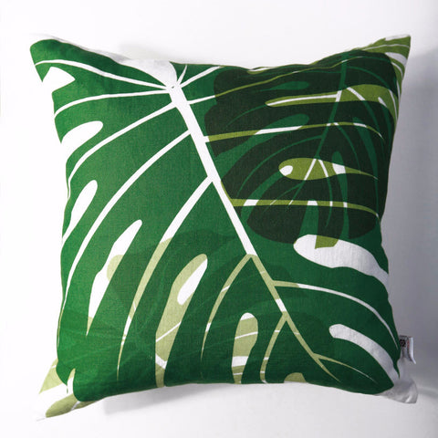 Monstera - Forest Pillow Cover