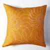 Nautilus - Amber Pillow Cover