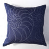 Nautilus - Midnight Pillow Cover