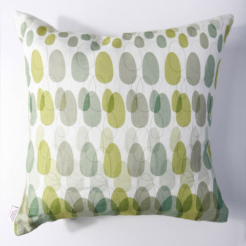 Mod Pod - Lime Green Pillow Cover