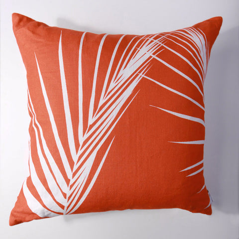 Palm - Fire Pillow Cover