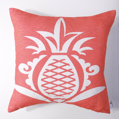Pineapple - Honeysuckle Pillow Cover