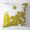 Plumeria - Wasabi Pillow Cover