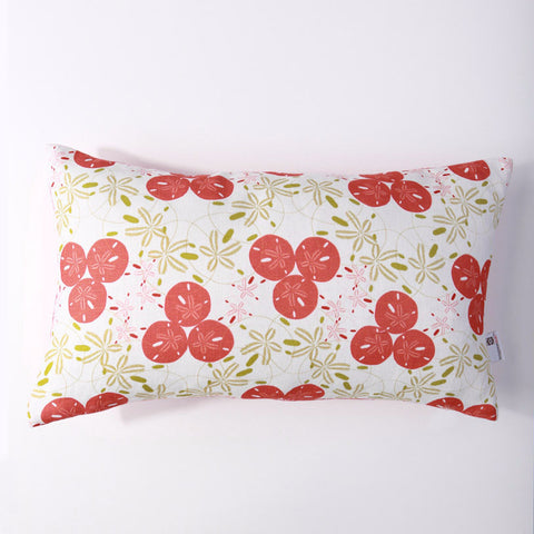 Sand Dollar - Honeysuckle/Lumbar Pillow Cover