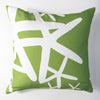 Starfish - Lime Green Pillow Cover
