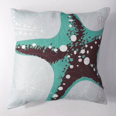 Starfish Vintage - Seafoam Pillow Cover