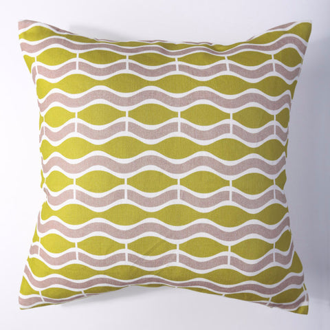 Wave - Wasabi Pillow Cover