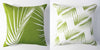 Palm - Lime Green Pillow Cover