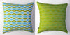 Wave - Lime Green Pillow Cover