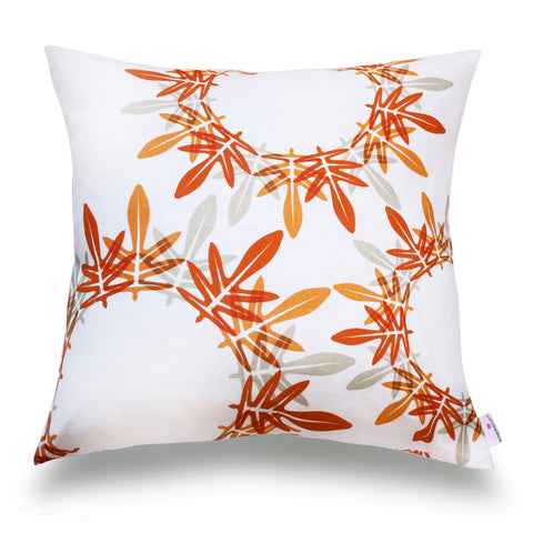 Fern Pillow Cover- Fire