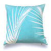 Palm - Aqua Pillow Cover