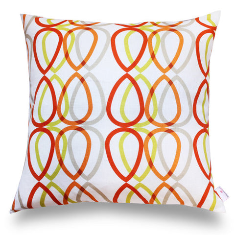 Drop Pillow Cover- Fire
