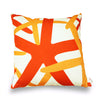 Starfish - Orange Pillow Cover