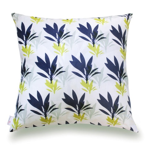 Ti Leaf Pillow Cover- Midnight
