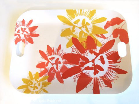Lilikoi Serving Tray - Honeysuckle