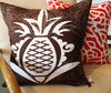 Pineapple - Coffee Bean Pillow Cover