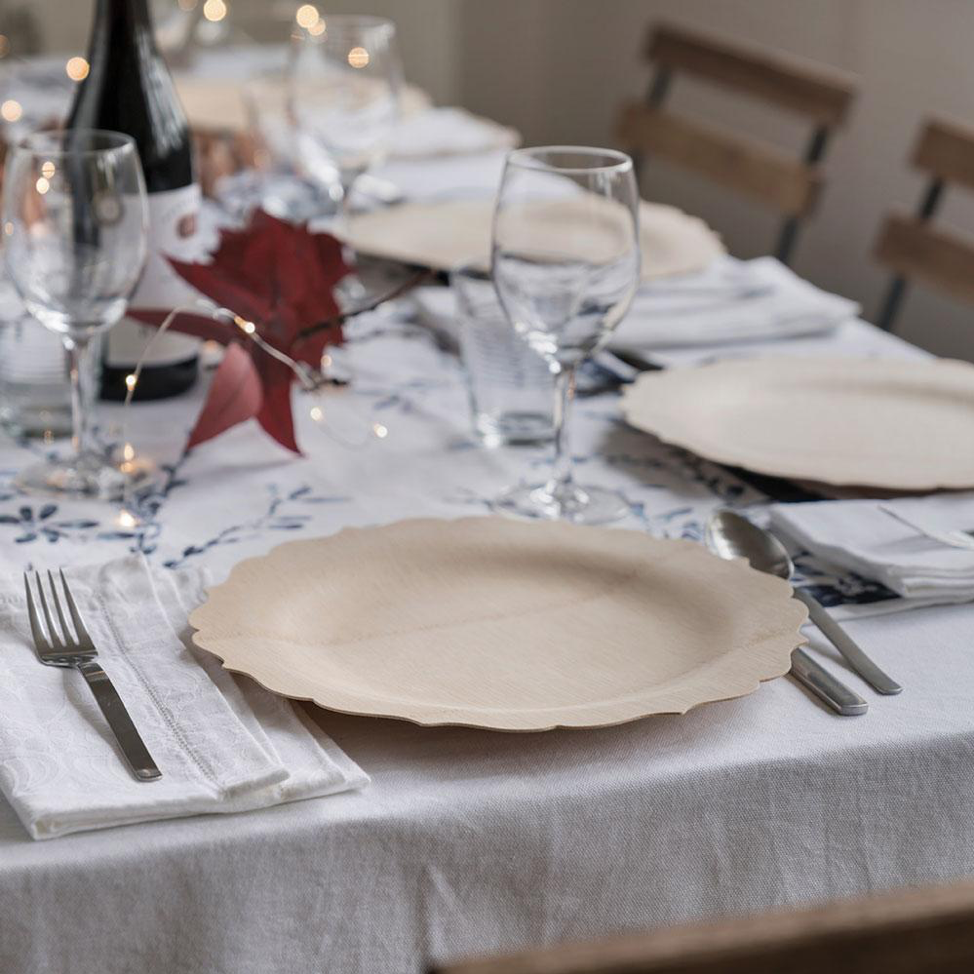 Customer Favorite - Fancy Disposable Plates for the Holidays