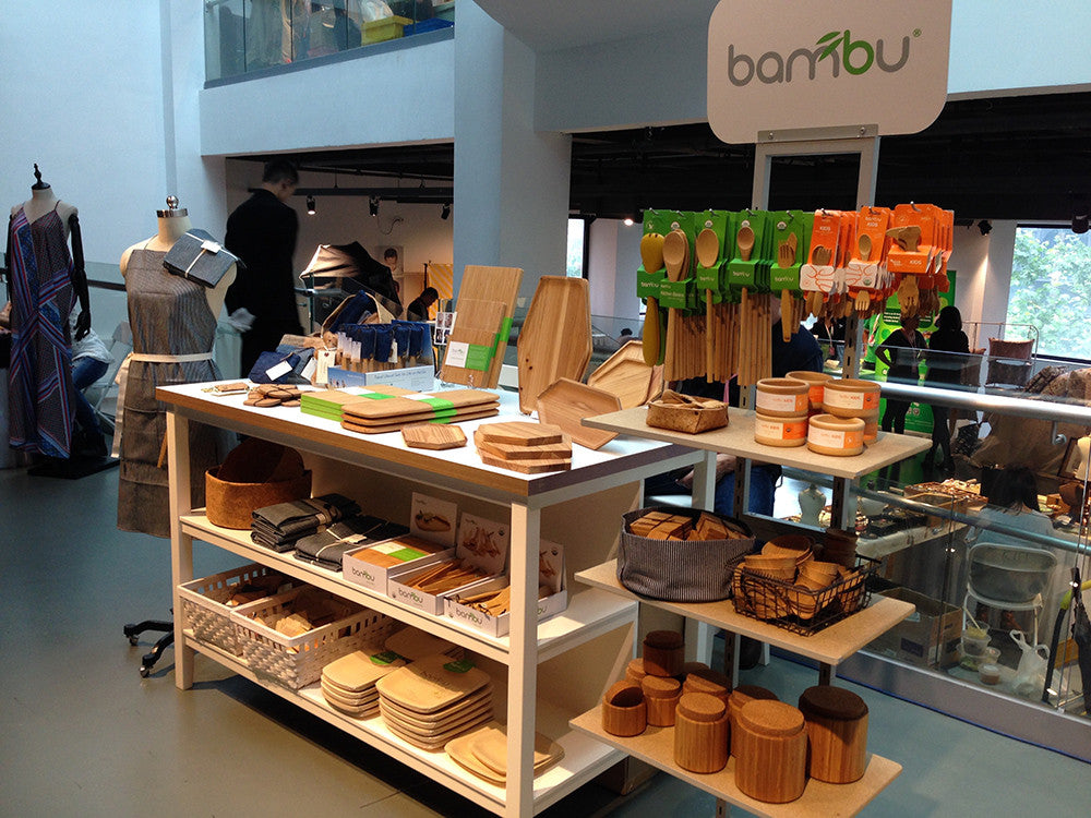 bambu exhibits at Eco Design Exhibition in Shanghai