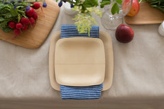 Disposable dinnerware is super convenient and when you use Veneerware from bambu youu0027re getting the best quality dinnerware for your event ... & Veneerware Bamboo Plate Sample Kit u2013 bambu