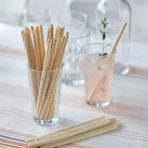 single use drinking straws