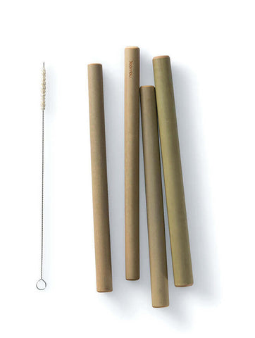 Large Reusable Bamboo Straws