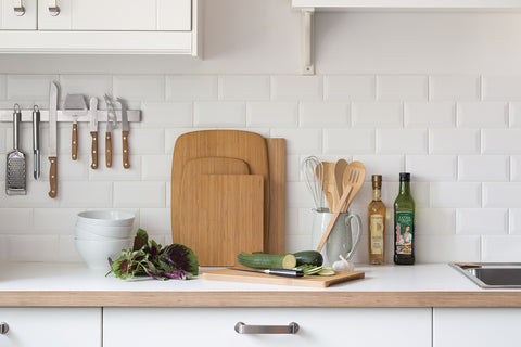 Bamboo cutting boards designed by Bambu