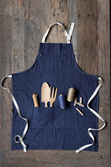 Hemp and Cotton Garden Apron