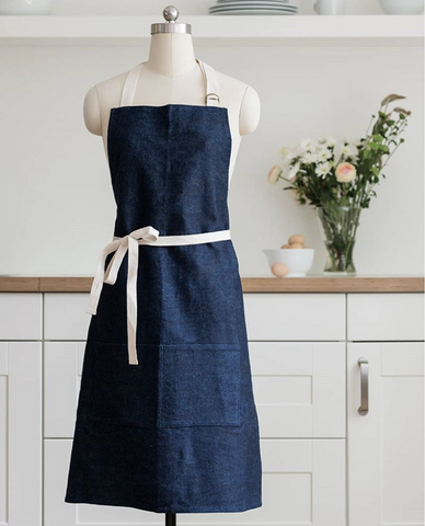hemp fabric apron