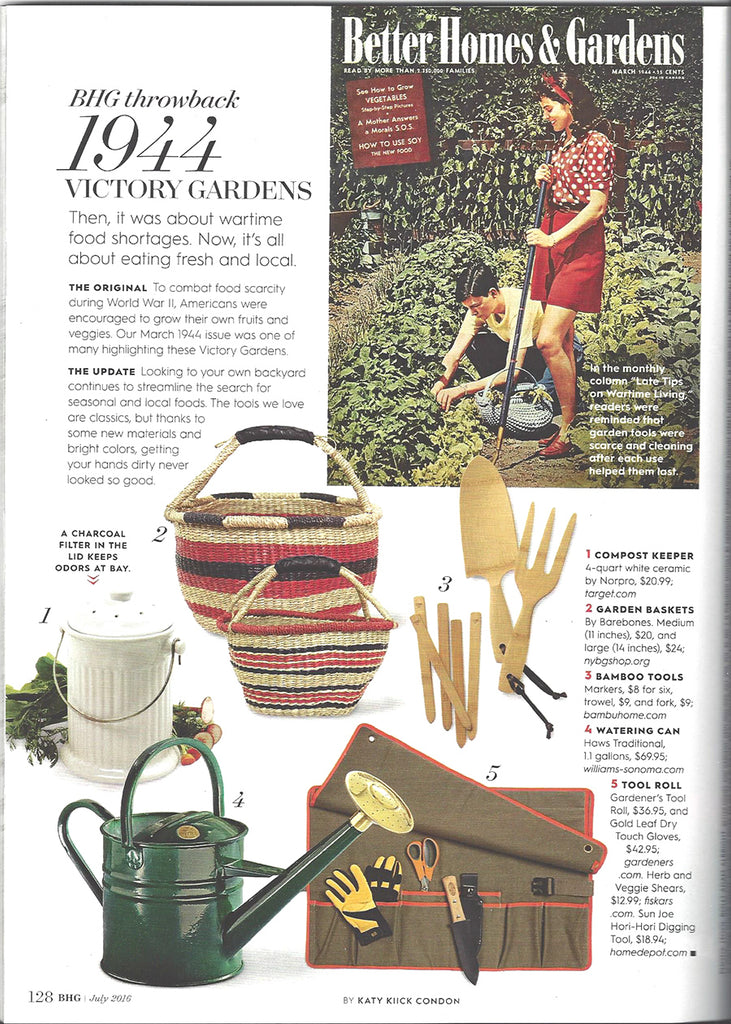bambu featured in July 2016 BHG