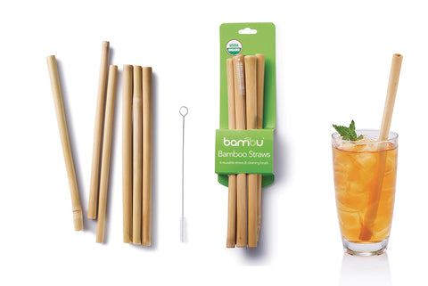sustainable design products like bamboo straws