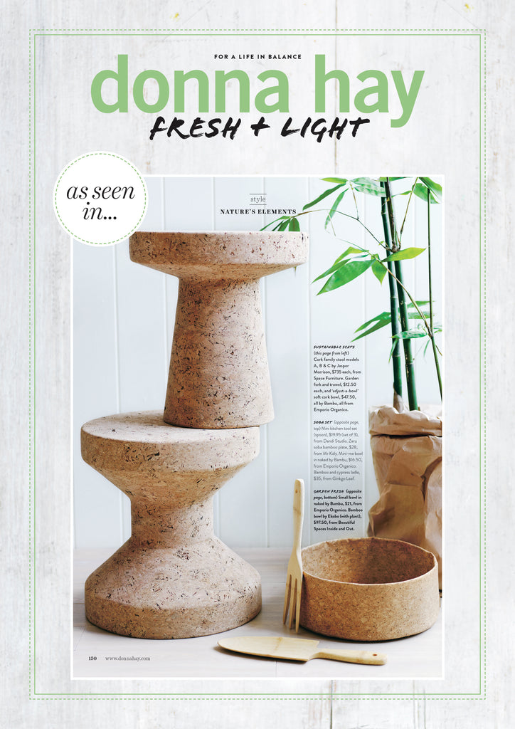 bambu in the pages of Donna Hay magazine