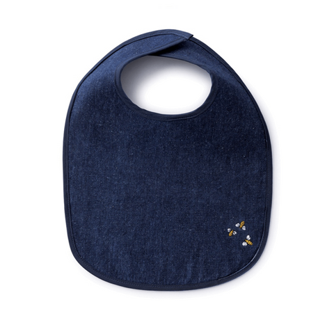 hemp fabric baby bib