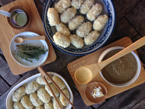 Potato Croquettes - preparation