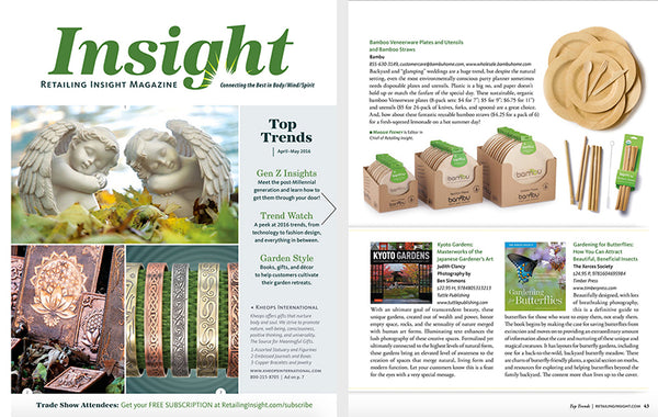 Green Products from bambu featured in Retailing Insight